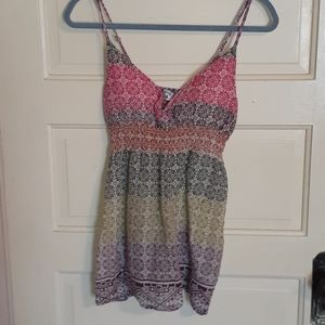 Colorful tank top!